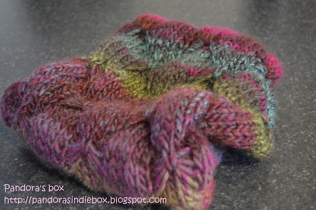 Handmade woolen scarves
