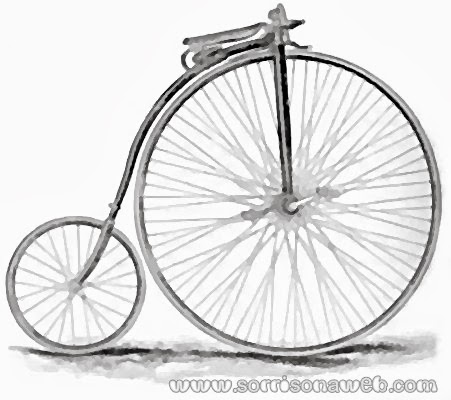 o primeiro modelo de bicicleta