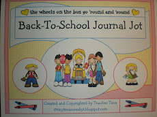 """Back To School"" Journal Jot"