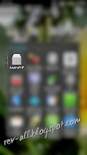 ikon androPHP - aplikasi server lokal android
