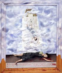 """Frida Kahlo's Famous Painting, """"El Suicidio de Dorothy Hale"""""""