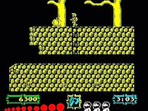 ghouls n ghosts zx spectrum