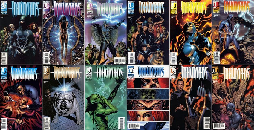 THE INHUMANS #1-12 COMPLETE SET. FOR ANY ENQUIRIES, PLEASE SMS ME AT 9616 9144