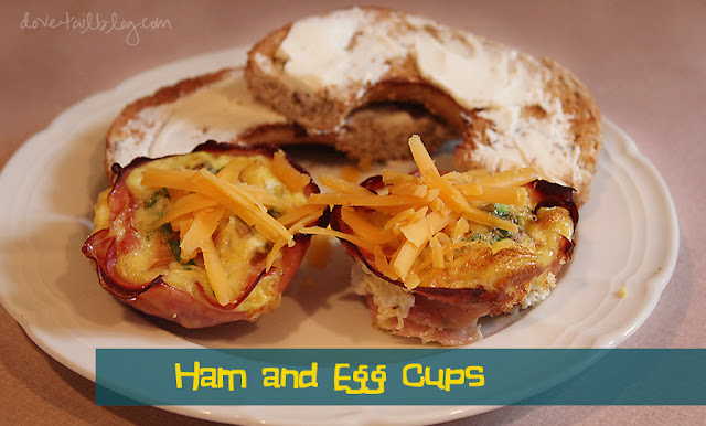 Ham & Egg Cups {Quick and Easy Easter Breakfast}