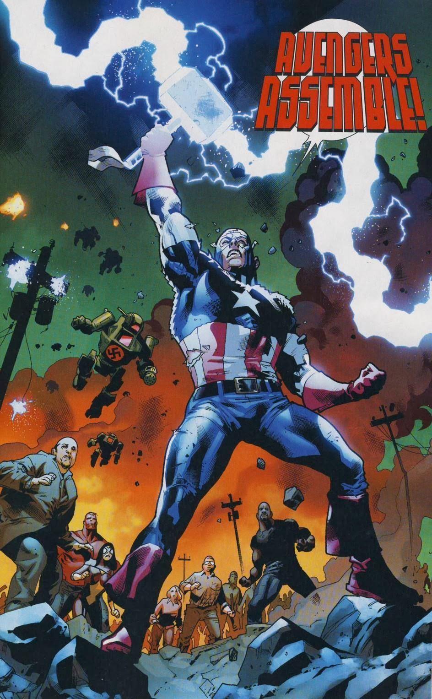 Galería de Portadores del Mjolnir - Capitán América
