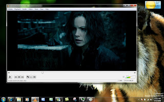 VLC windowed film playing screen shot
