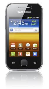 3G Android Touchscreen Phone Samsung Galaxy Y