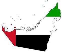 UAE-Flag map