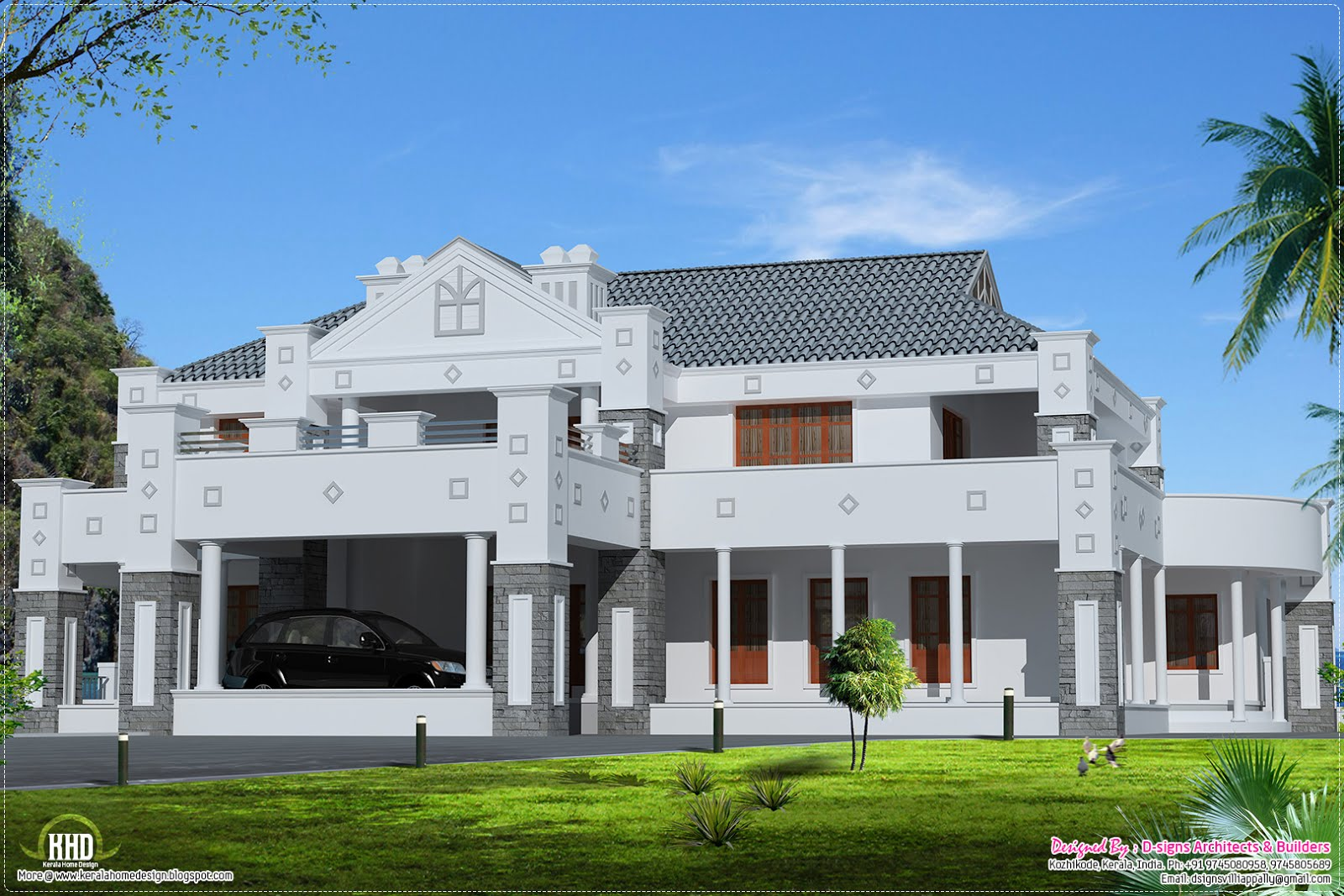 february 2013 kerala home design and floor plans victorian style super luxury home