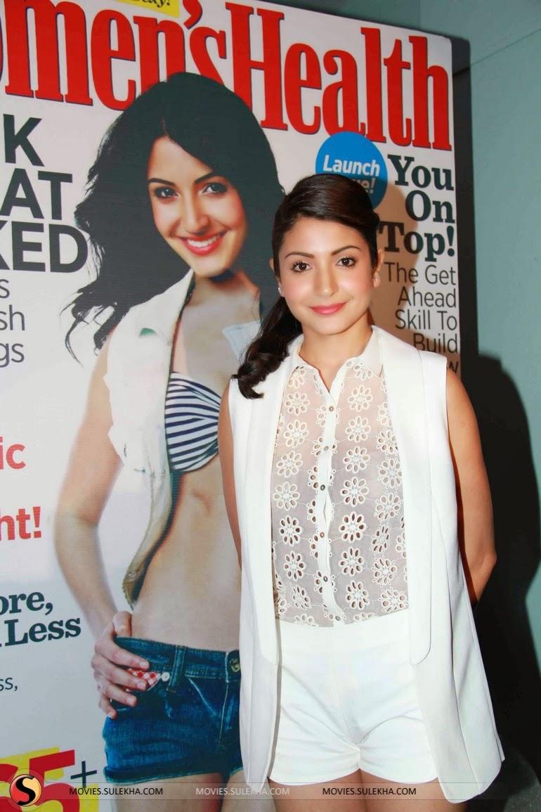 Anushka Sharma Unveils Women's Health Issue