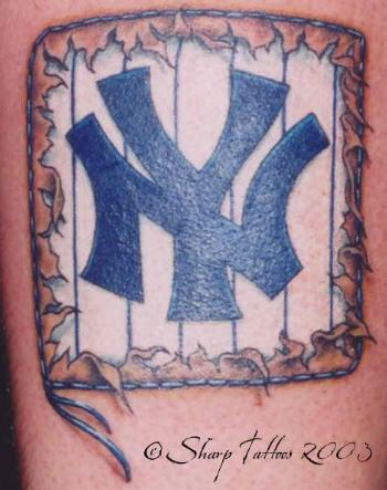 tattoos designs art new york yankees tattoo. Black Bedroom Furniture Sets. Home Design Ideas