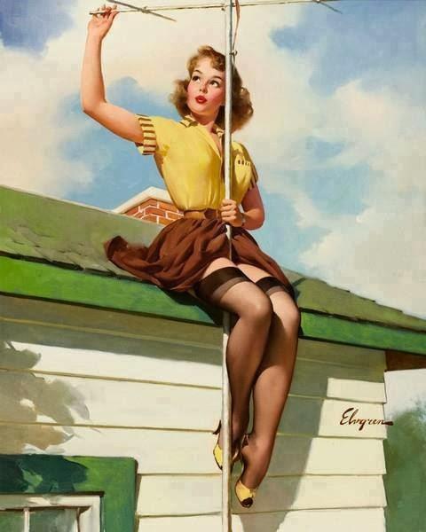 Antenna-girl
