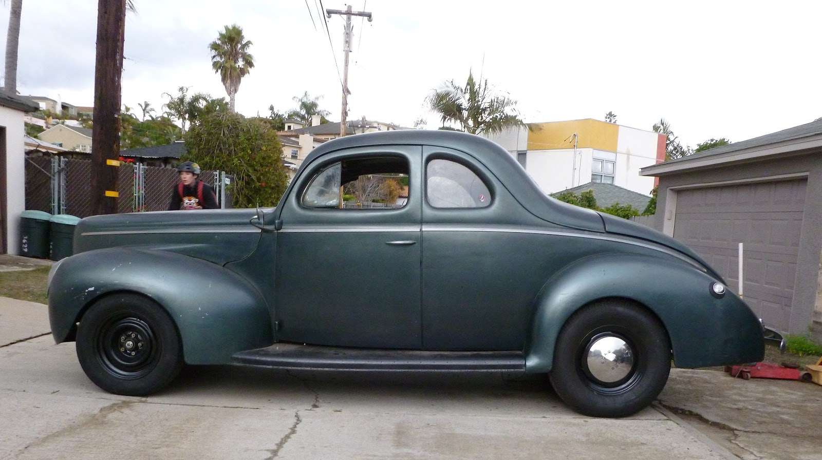 Ford thunderbird super coupe also 1940 ford coupe project for sale