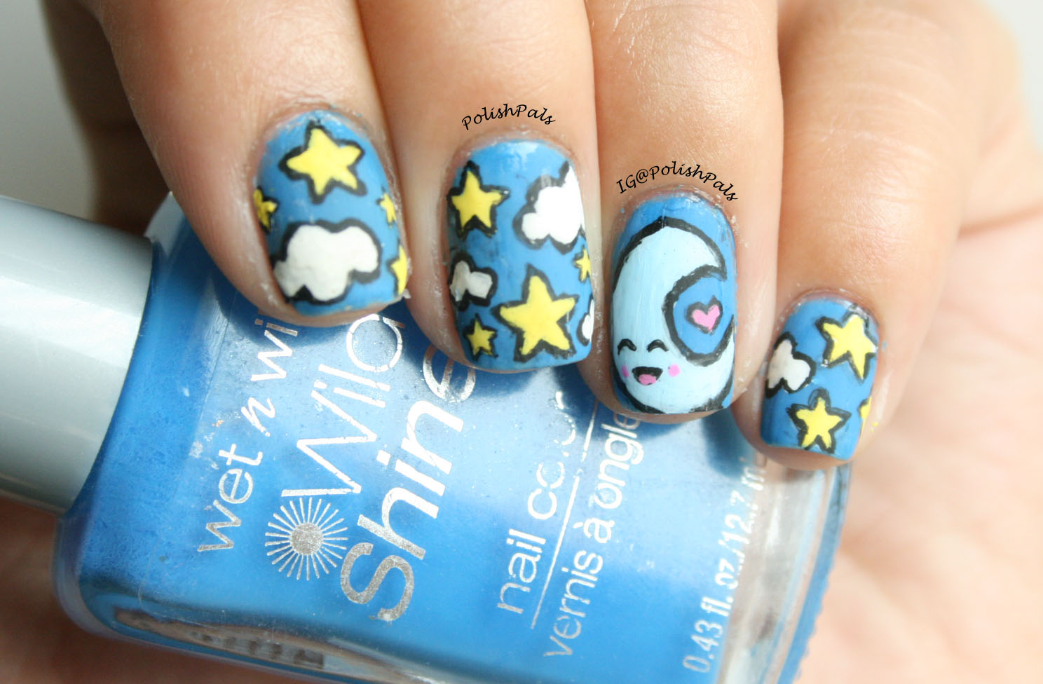 Polish Pals: Kawaii Star and Moon Nails