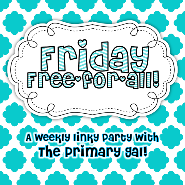 http://theprimarygal.blogspot.com/2014/02/friday-free-for-all.html?m=1