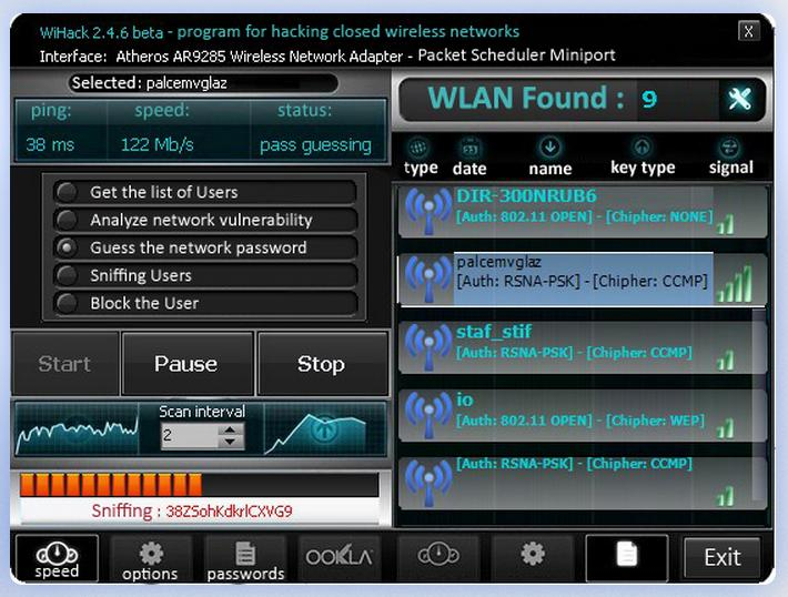 Best wifi hacking software for windows xp