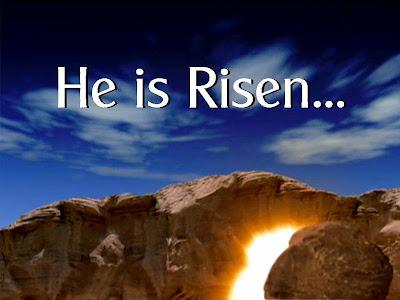 Jesus is Risen Wallpaper