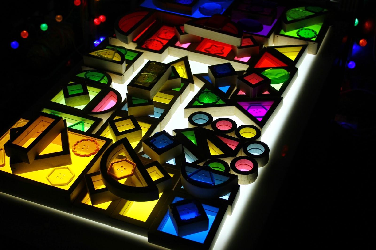 light table toys and ideas