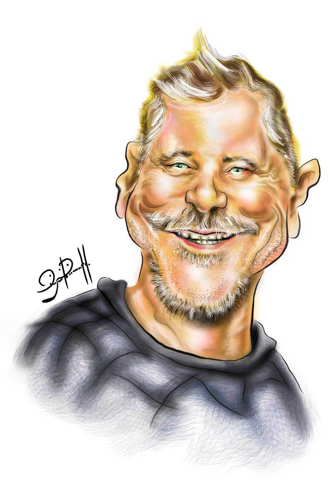 Artista Miguel Falabella_caricatura digital