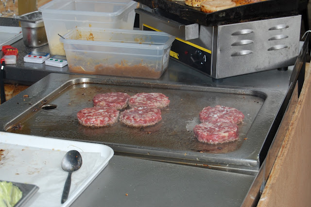 Serious marbling in the Elliot's burger patties