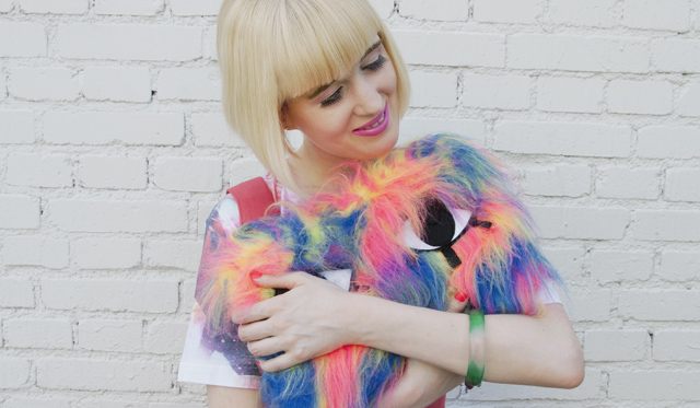 joanna pybus, fur clutch, monster, kawaii