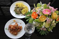 ข้าวส้มเงี้ยว และข่างปองหอม อาหารพื้นบ้านไทยใหญ่ของแม่สะเรียง