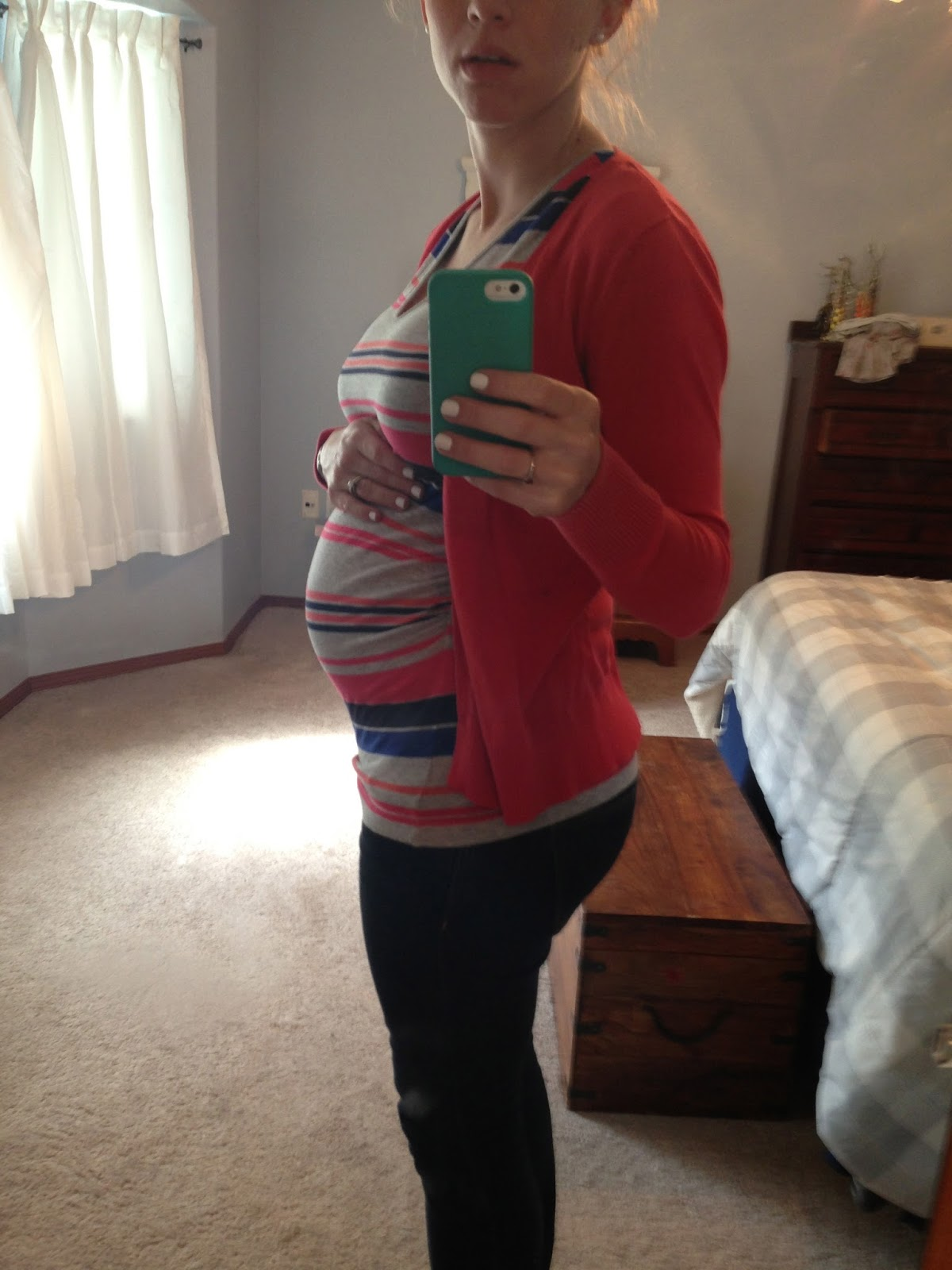 baby bump at 24 weeks