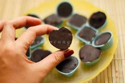 Cách làm Chocolate đơn giản cho Valetine 2