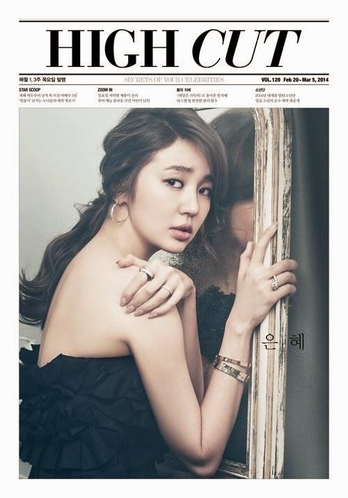 Yoon Eun Hye Seo Kang Joon High Cut Magazine Vol. 120