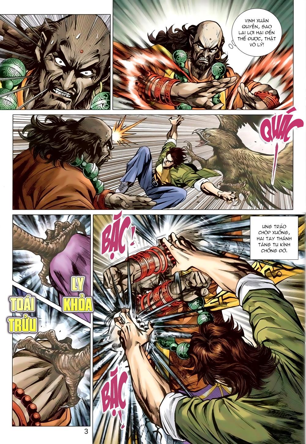Tân Tác Long Hổ Môn chap 820 Trang 3 - Mangak.info