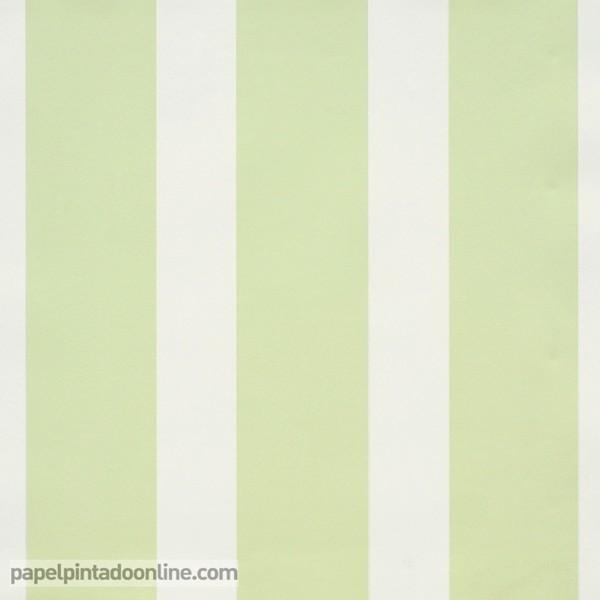 Papel pintado papel pintado outlet for Papel pintado rayas verdes