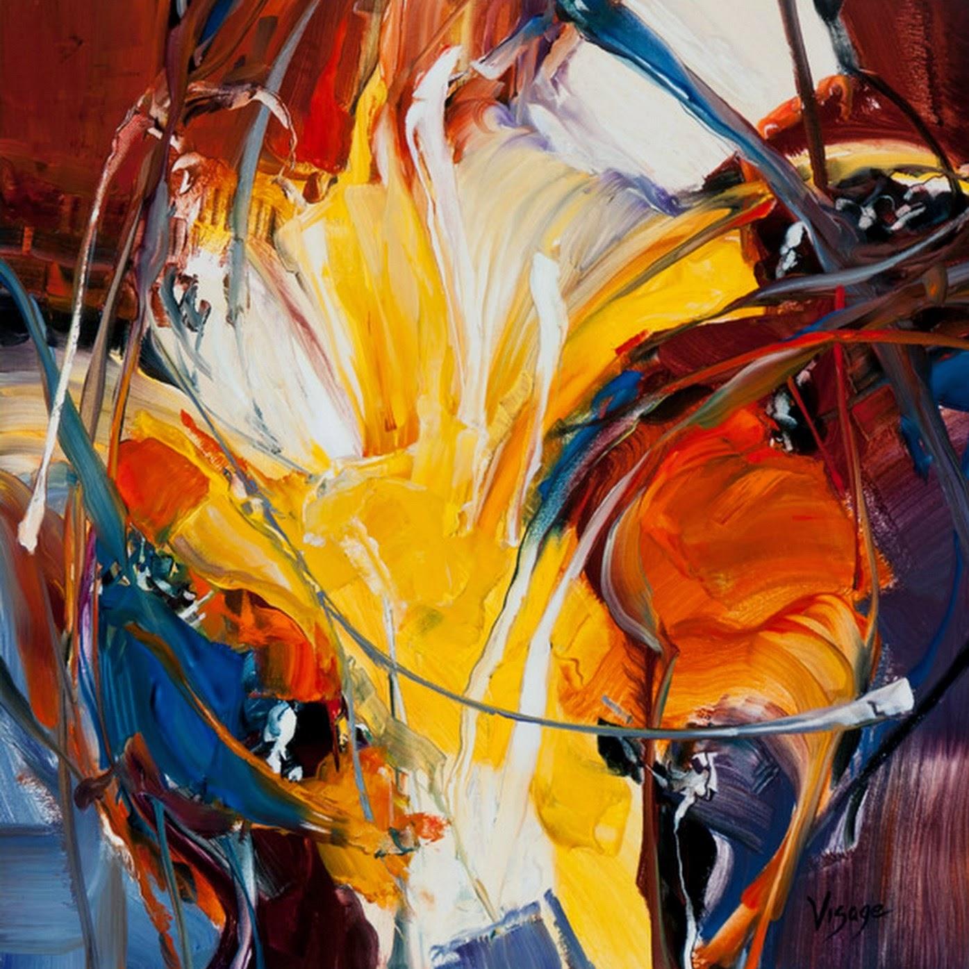 Cuadros modernos cuadros modernos pinturas al leo - Pintura cuadros modernos ...
