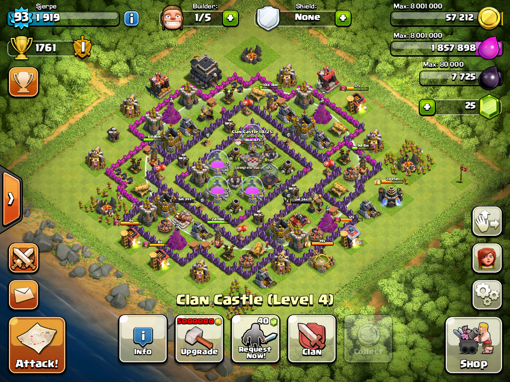 how to play clash of clans on two devices
