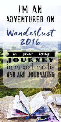 A year long mixed media journey