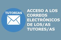 Correos electrónicos tutores/as