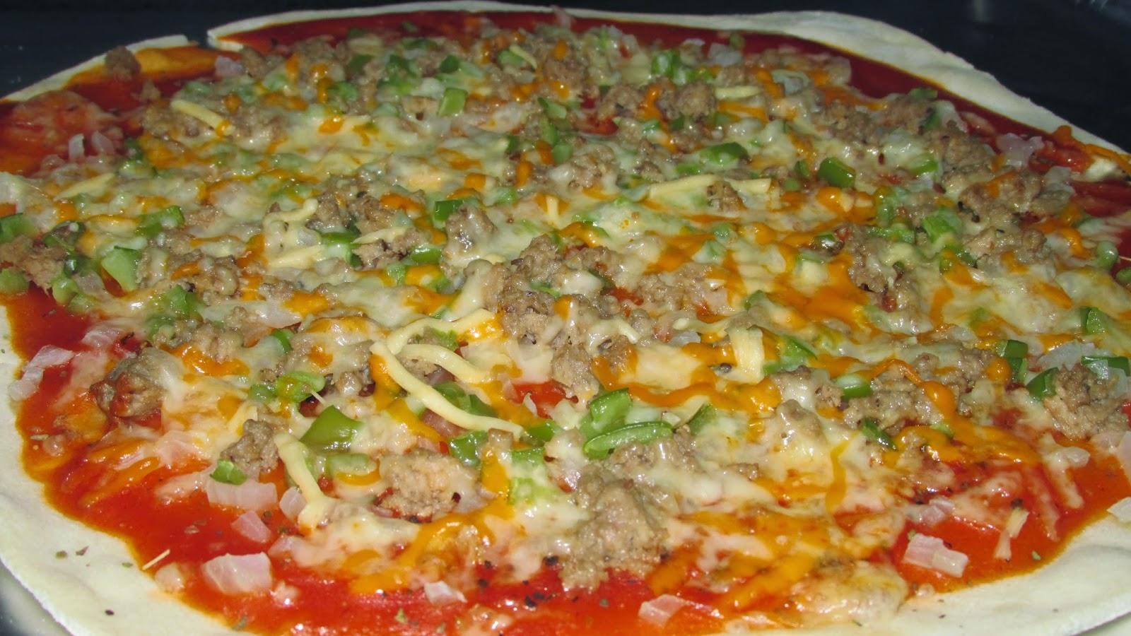 Pizza Casera, Masa Casera De Elaboración Propia.