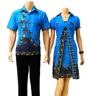 baju batik pasangan/capulate