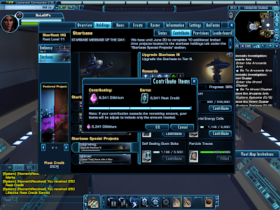 Star Trek Online - Fleet Donation