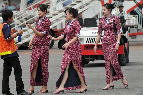 baju pramugari lion air