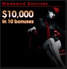 bonus weekend