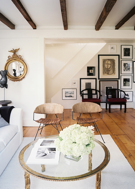 Sag Harbour cottage by ASH NYC. Photo by Patrick Cline