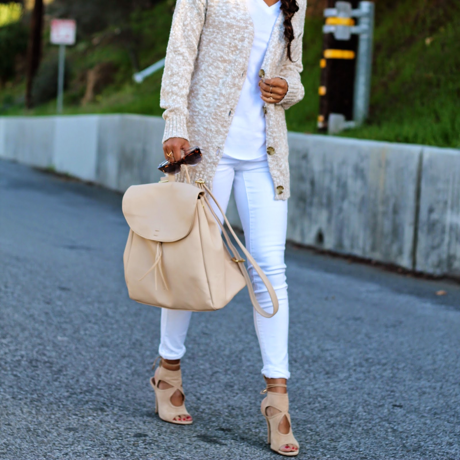 winter white style, target outfits, how to wear white jeans, pursuit of shoes