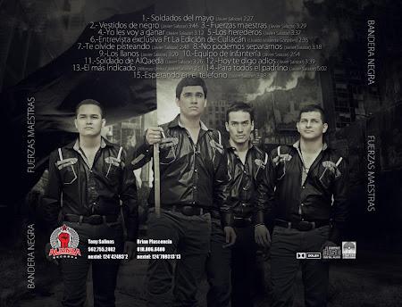 Bandera Negra – Fuerzas Maestras (Disco Oficial 2012)
