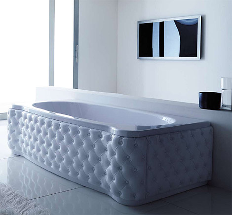 Crazy About Tufted Furniture? Then Youu0027ll Love This Tub Base.