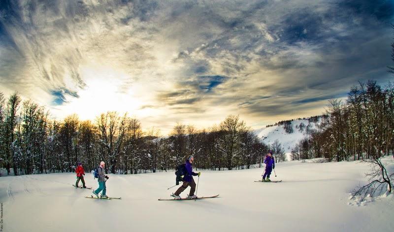 Expedições com raquetes de neve