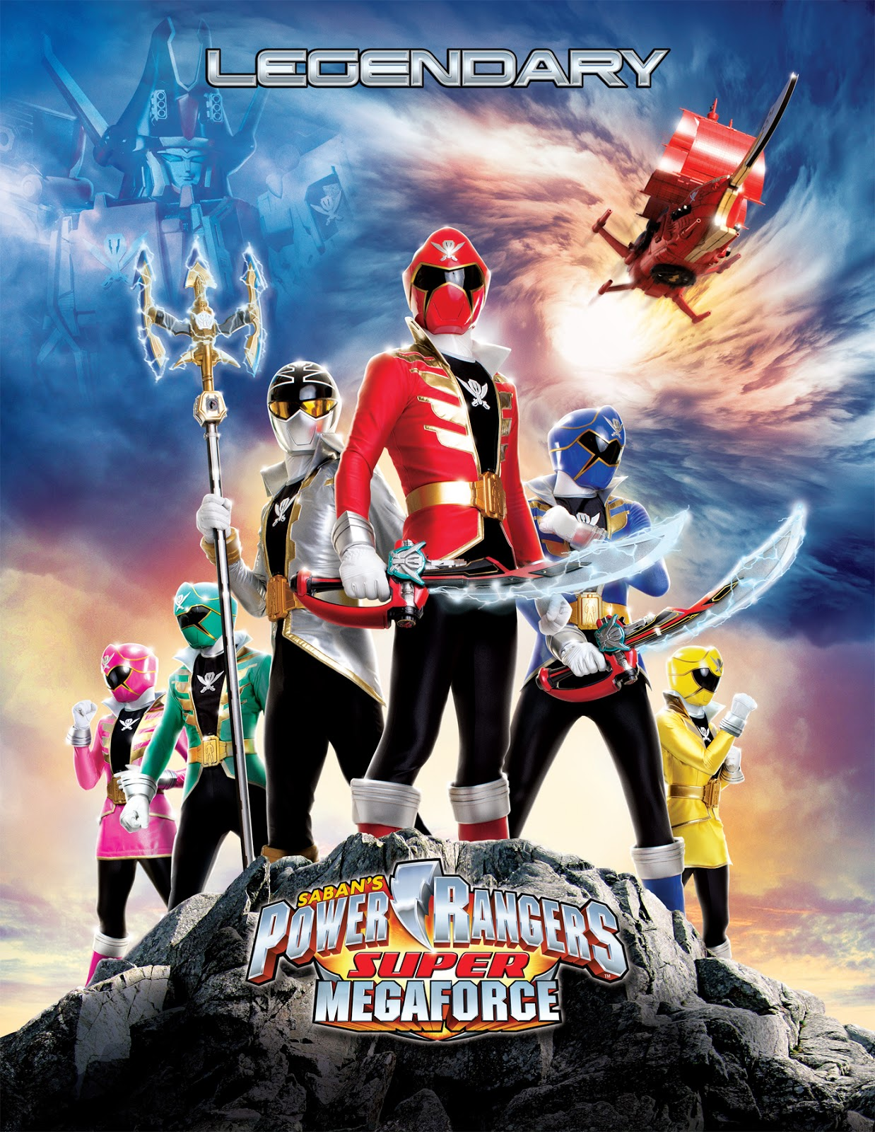 power rangers super megaforce games 3d