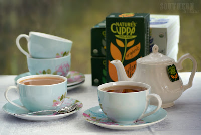 Tea Party with Nature's Cuppa Organic Tea