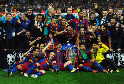 FC Barcelona Champions League Winner