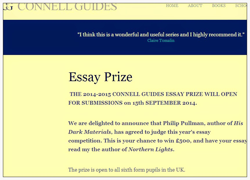 sixth form english essay competition Signet essay contest announcing the 22nd annual signet classics student scholarship essay contest read the winning essays from previous years.