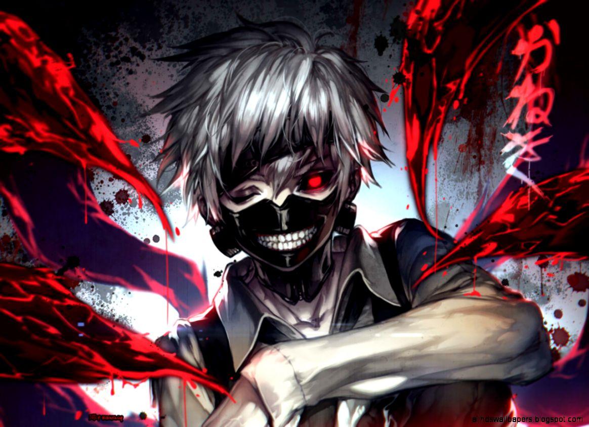 Tokyo Ghoul Bloody Wallpaper